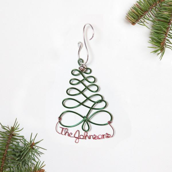 Ornament - Personalized Christmas Tree Ornament