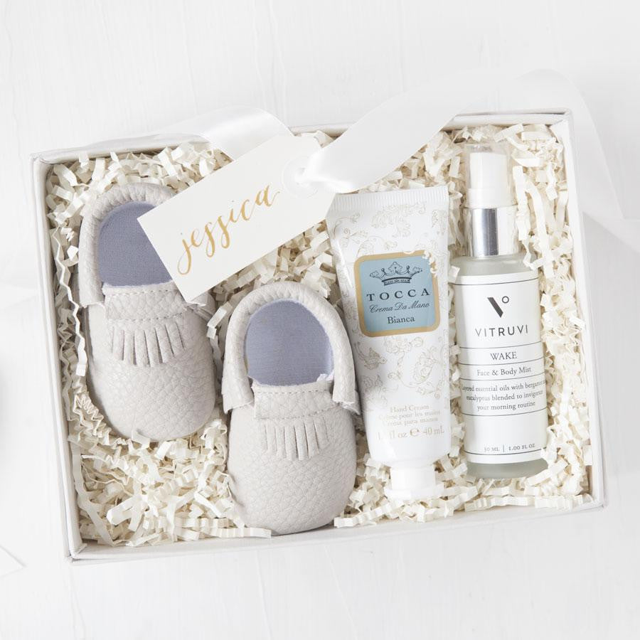 gifts for new moms gender neutral baby gifts luxury mom gifts new mom ...  sc 1 st  Foxblossom & Personalized Bridesmaid Gift Boxes - Foxblossom Co.