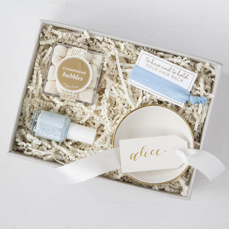 best engagement gifts bridal gift sets bride gift boxes unique bridal shower gifts ... & Something Blue Gift Box - Foxblossom Co.