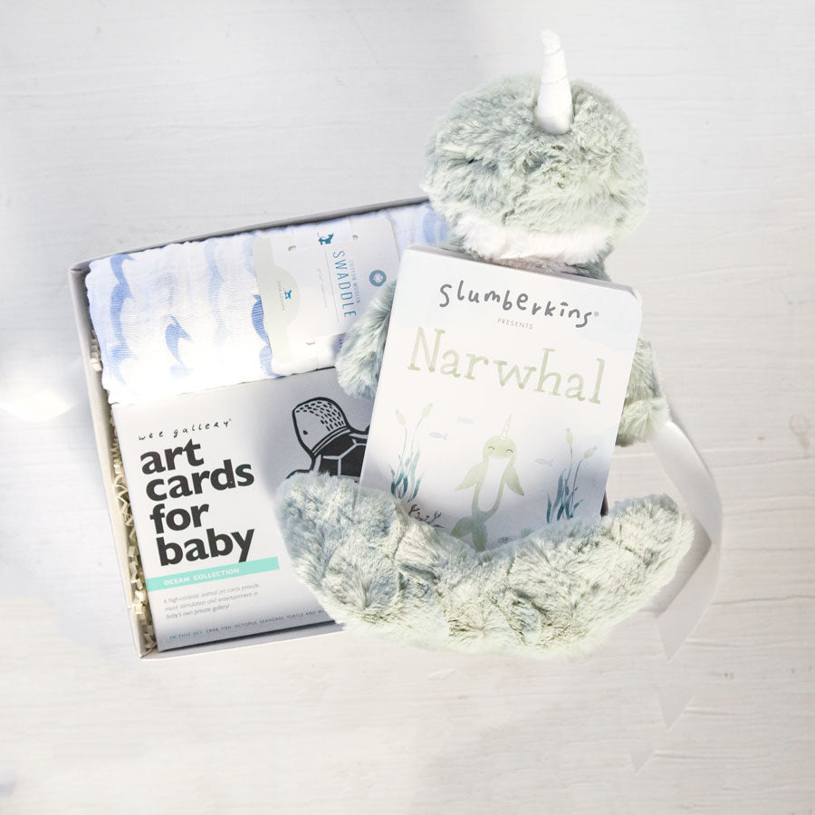Welcome Baby Seaside Gift Box