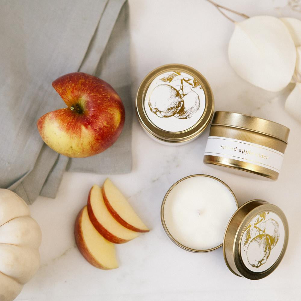 LIMITED Spiced Apple Cider Travel Candle