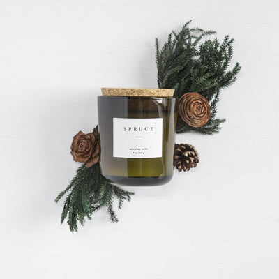 holiday candles, natural soy candles, hand poured non toxic holiday soy wax candles, best holiday scented candles, gifts for her, gifts for teachers, gender neutral gifts, stocking stuffers, custom client gifts, unique gift ideas for her, handmade soy candles, shop small