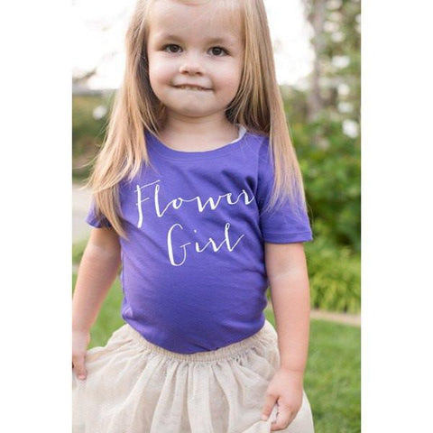 flower girl shirt, flower girl gifts, bridesmaid gifts, bridal party apparel