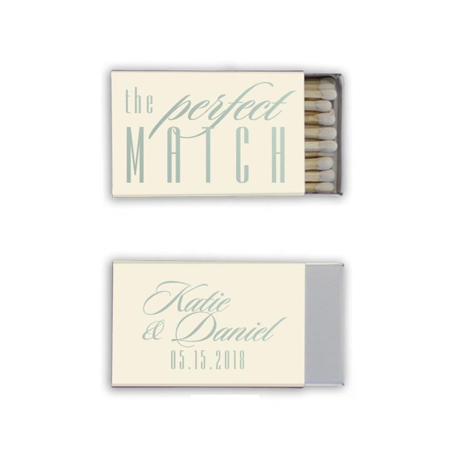 wedding matchbox favors, unique personalized favors, bridal shower favors, rose gold, gold