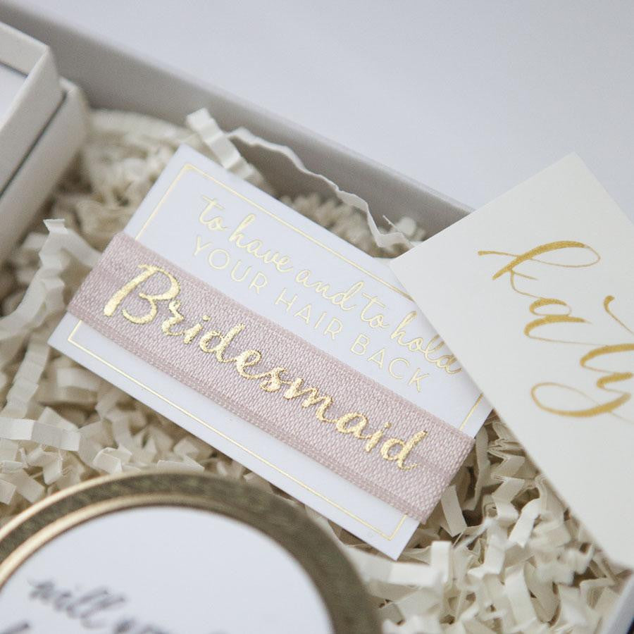 Be My Bridesmaid Gift Box