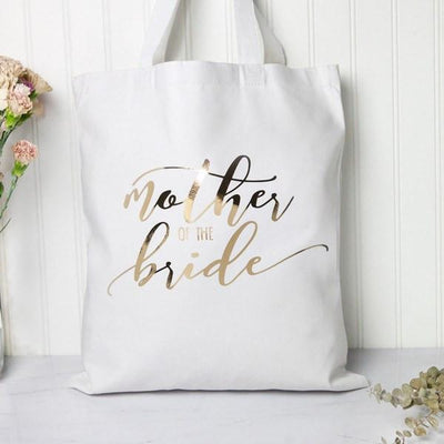 Tote - Metallic Mother Of The Bride/Groom Tote Bag