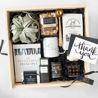 Westfall Gold Custom Gift Box