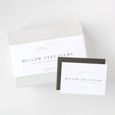 Willow Tree Films Custom Client Gift Box