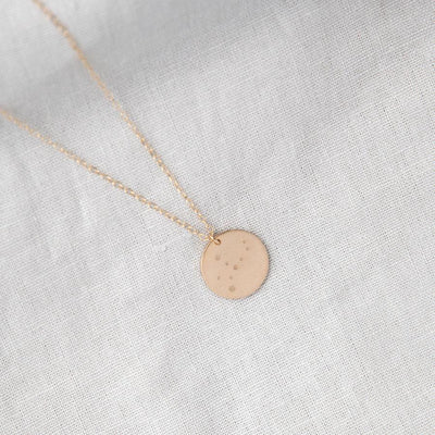 personalized initial disc necklace, minimal gold jewelry, gifts for mom, new mom gifts, new baby gifts, grandma gifts, gifts for her, gifts for wife, handmade