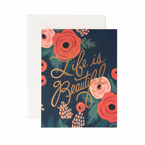 Life is Beautiful (Rifle Paper Co.)