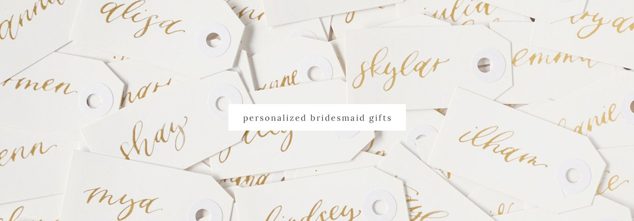 Personalized Bridesmaid Proposal Gifts