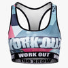 Graffiti Fitness Bra