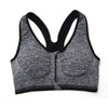 Zippered High Density Compression Sports Bra