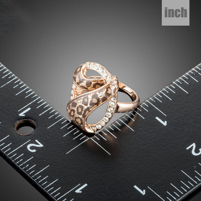 Safari Leopard Ring