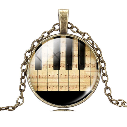 Piano Man Pendant