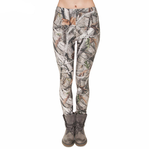 Nature Print Leggings
