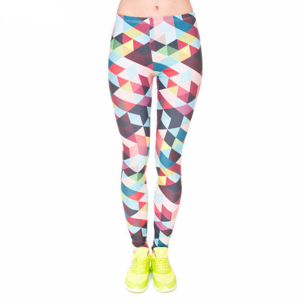Geo Positive Leggings