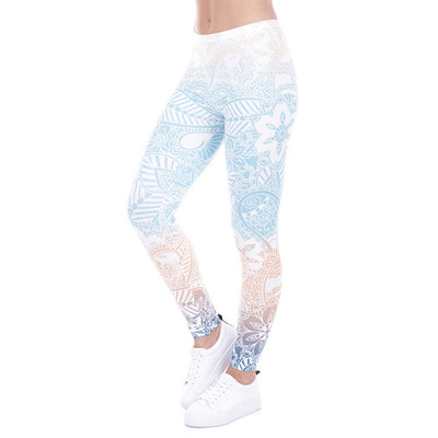 Shades of Blue Leggings