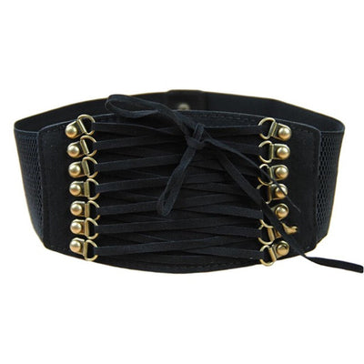 Retro Rivet Corset Belt