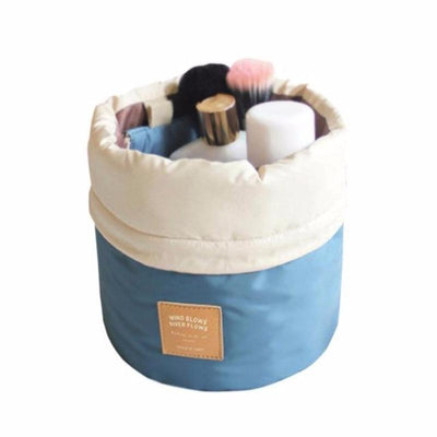 Drawstring Makeup Mini Basket