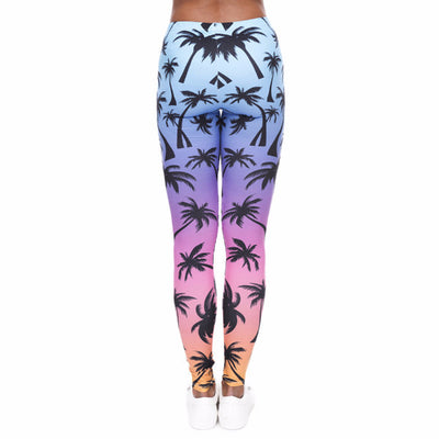 Charleston Palm Leggings
