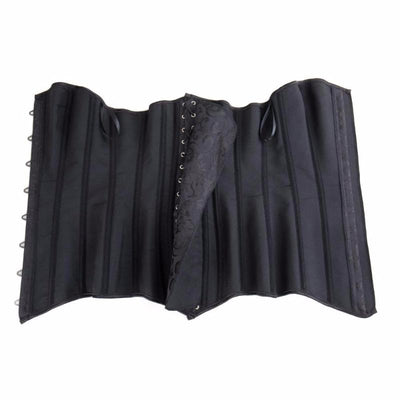 Hourglass Steel Boned Long Torso Corset