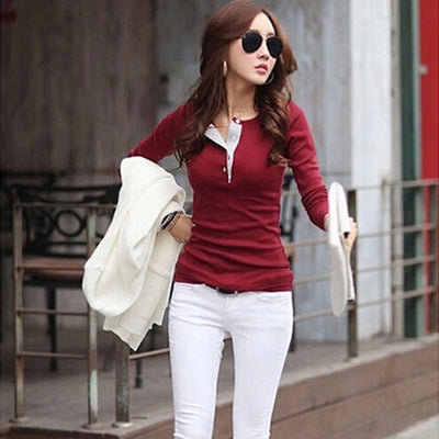 Casually Slim Pullover