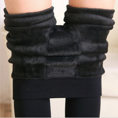 Trendy Knit Skinny Warm Leggings