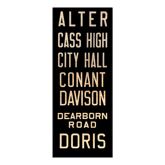 Alter Detroit Scroll Wall Art