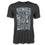 "Detroit Scroll Men's ""Around the Block"" Crew Black T-Shirt"