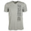 "Detroit Scroll ""Down The Road"" Gray V-Neck Men's T-shirt"