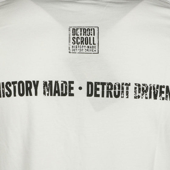 "Detroit Scroll Men's ""Told You So"" White Short Sleeve T-Shirt"