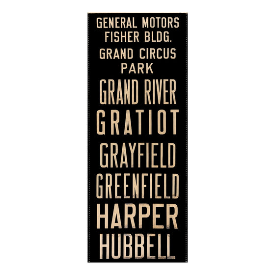 General Motors Fisher Building Detroit Scroll Wall Art DS4