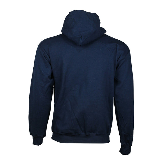 "Detroit Scroll ""Around The Block"" Navy Hoodie Sweatshirt"