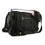 Detroit Scroll Black Messenger Bag