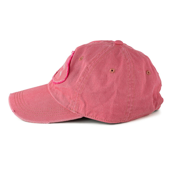 "Detroit Scroll ""Told You So"" Low-Profile Pink Washed Adjustable Cap"
