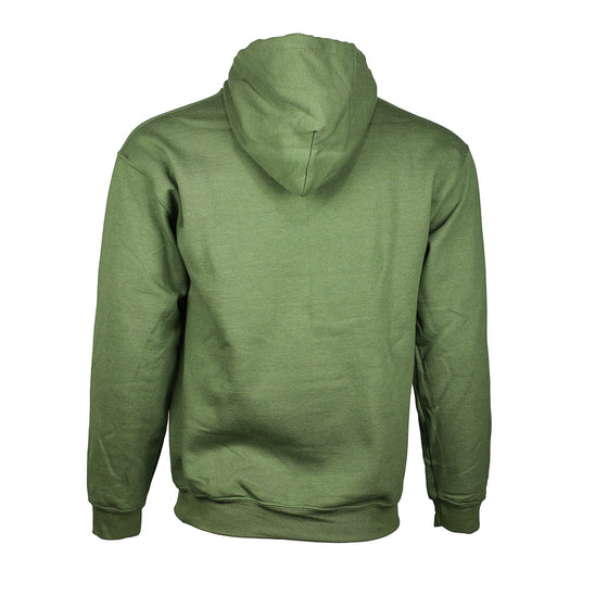 "Detroit Scroll ""Around The Block"" Green Khaki Hoodie Sweatshirt"