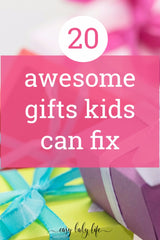 20 ideas for kids for Mothers Day.