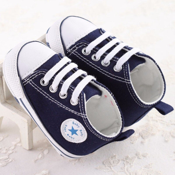 All Star Style Baby Shoes. Choice of Colors
