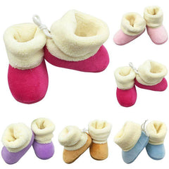 Baby Flock Warm and Soft Boot Shoes