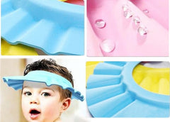 Baby Kids Shower Bath Shield. Protects Eyes Face and Mouth from Soap