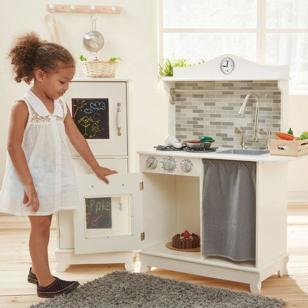 Teamson Kids - Sunday Brunch Wooden Play Kitchen – White