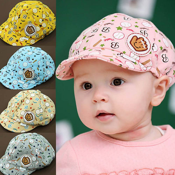 Boys or Girls Babies First Baseball Hat