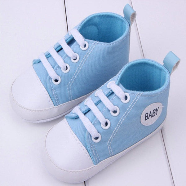 Choice of Baby Canvas Style Soft Shoes