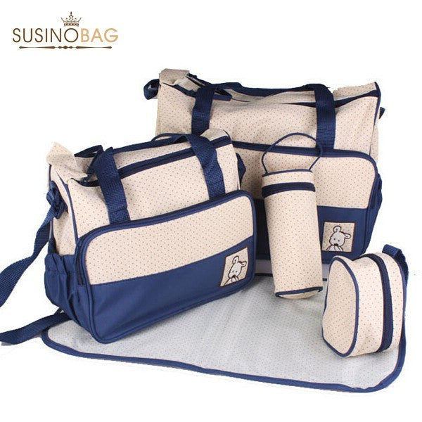 Choice of Baby Care Diaper Bag Sets, 5 Piece