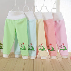 Choice of Baby Girls High Waist Cute Alligator Pants