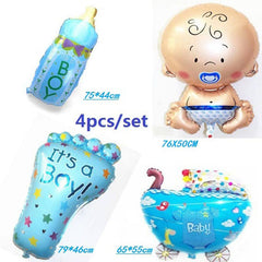 Choice of Boys or Girls Baby Shower Balloon Sets