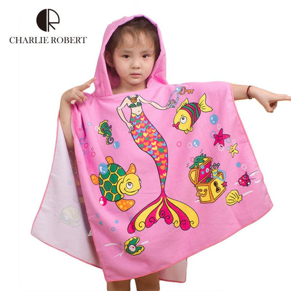 Choice of boys or girls Hooded Bath/Beach/Pool Towels