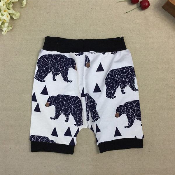 Choice of Boys Summer Shorts. Bears or Plaid