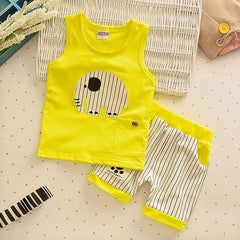 Choice of Elephant Tank Top and Shorts Set
